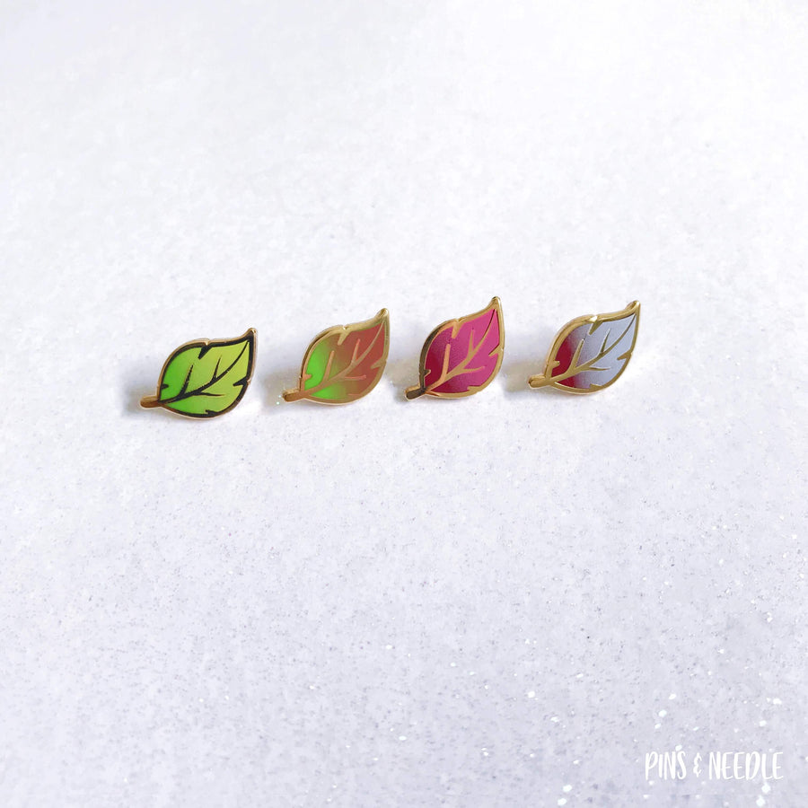 Seasons - Leaf | Mini Enamel Pins