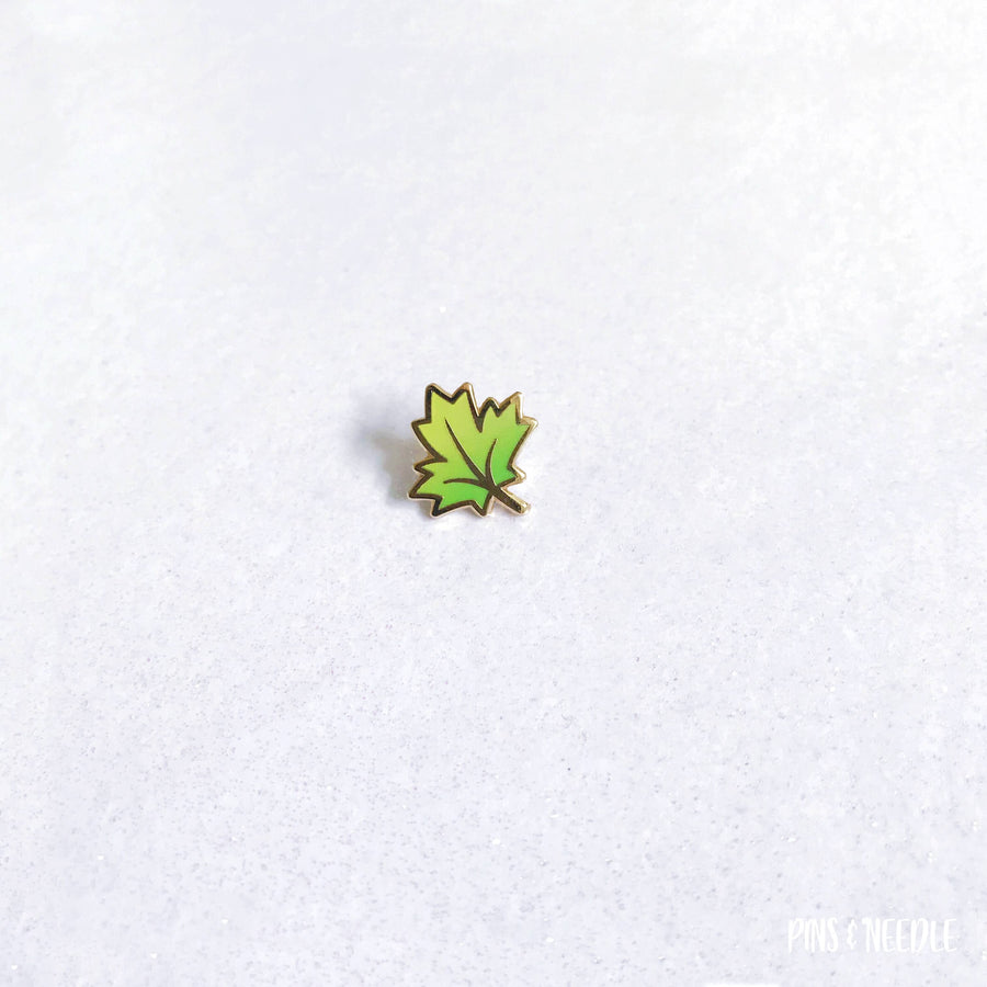 Seasons - Maple Leaf | Mini Enamel Pins