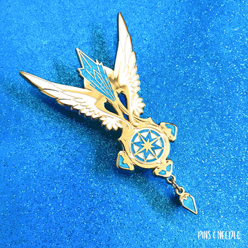 **PRE-ORDER** Sakura Dream Pendant | Hard Enamel Pin