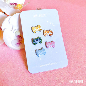 Moon Bow | Mini Enamel Pins