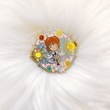 Clear Dream Sakura - Full Color - Hard Enamel Pin