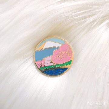 Mt. Fuji - Hard Enamel Pin