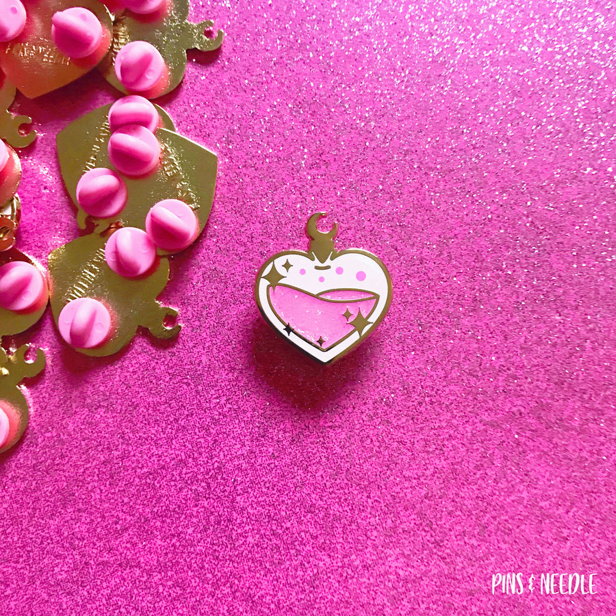 Moon Love Potion | Hard Enamel Pin