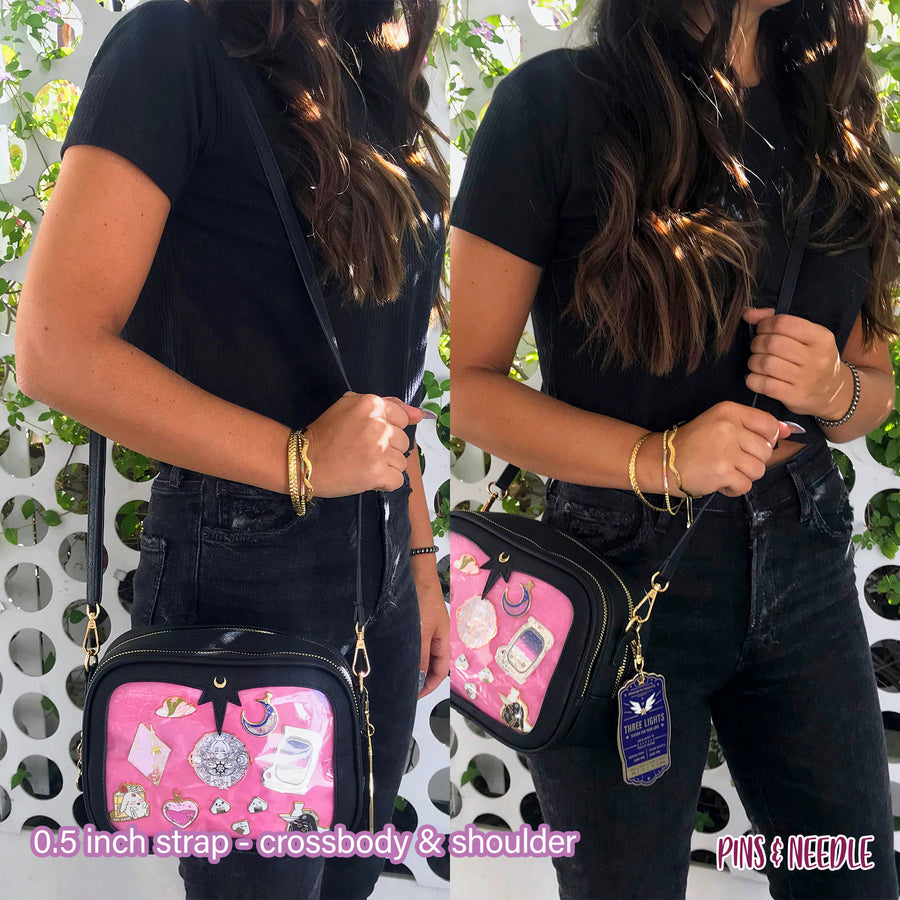 **PRE-ORDER** Minimalist Cross-body Itabag - Plum Berry
