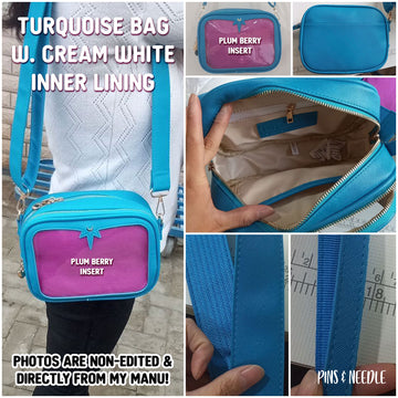 **PRE-ORDER** Minimalist Cross-body Itabag - Turquoise