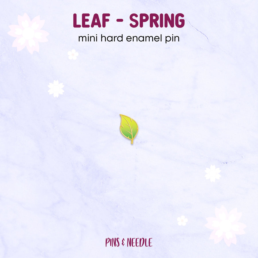**PRE-ORDER** Seasons - Leaf | Mini Enamel Pins