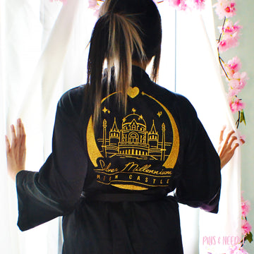 **PRE-ORDER** Moon Castle | Satin Robes