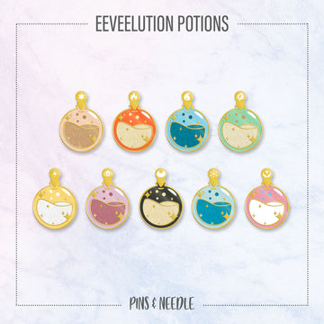 **PRE-ORDER** Element Potion Series - Hard Enamel Pins