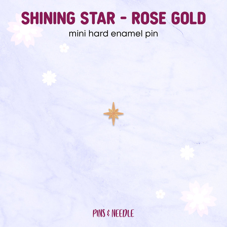 **PRE-ORDER** Seasons - Shining Star | Mini Enamel Pins