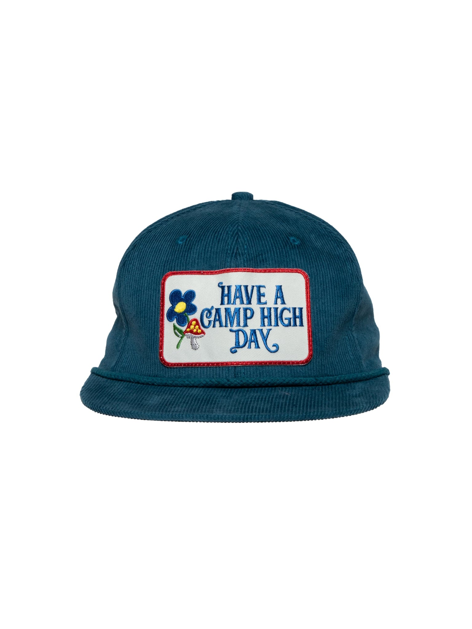Camp High Blue Camp High Day Cord Cap