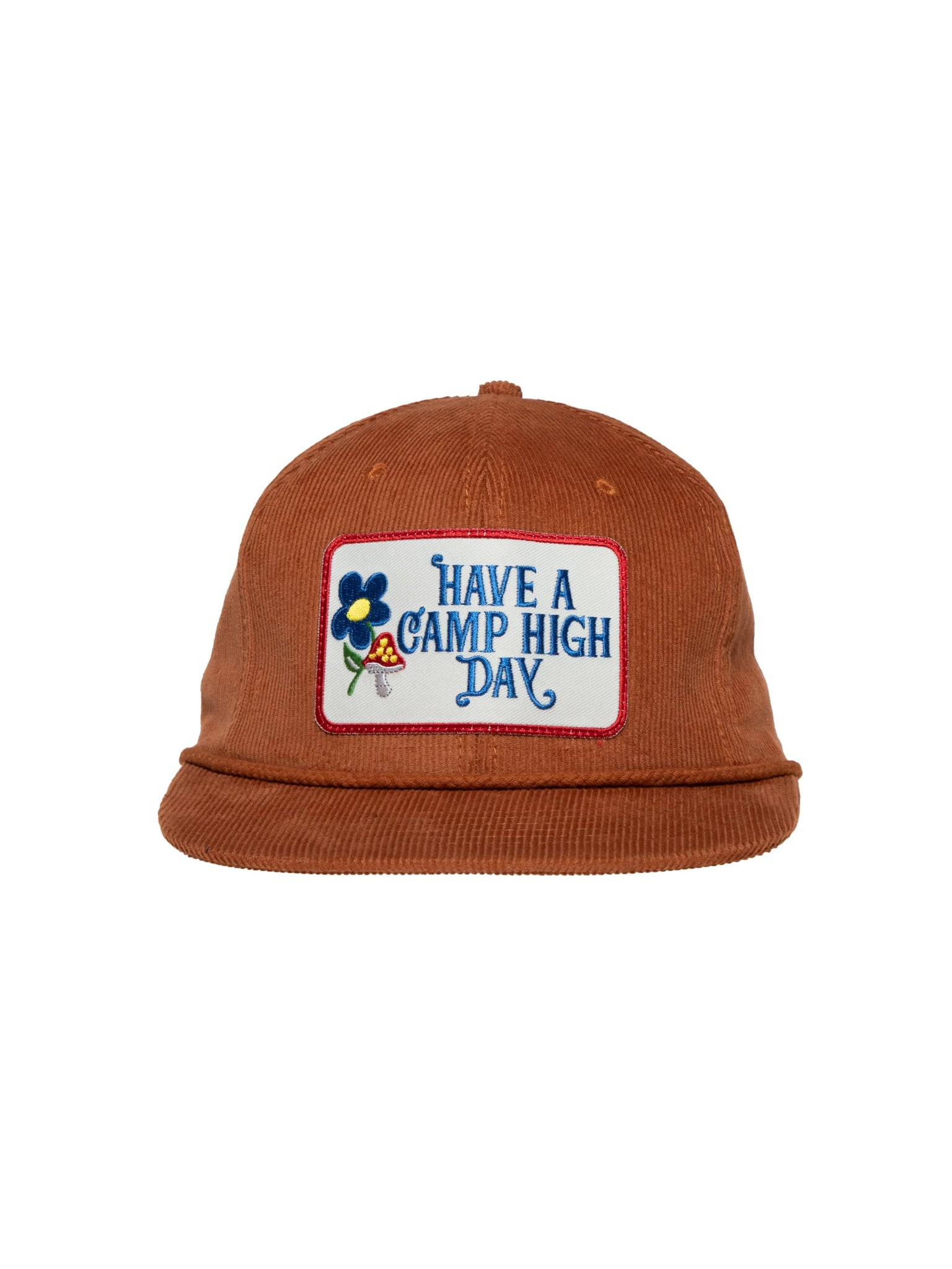 Camp High Brown Camp High Day Cord Cap