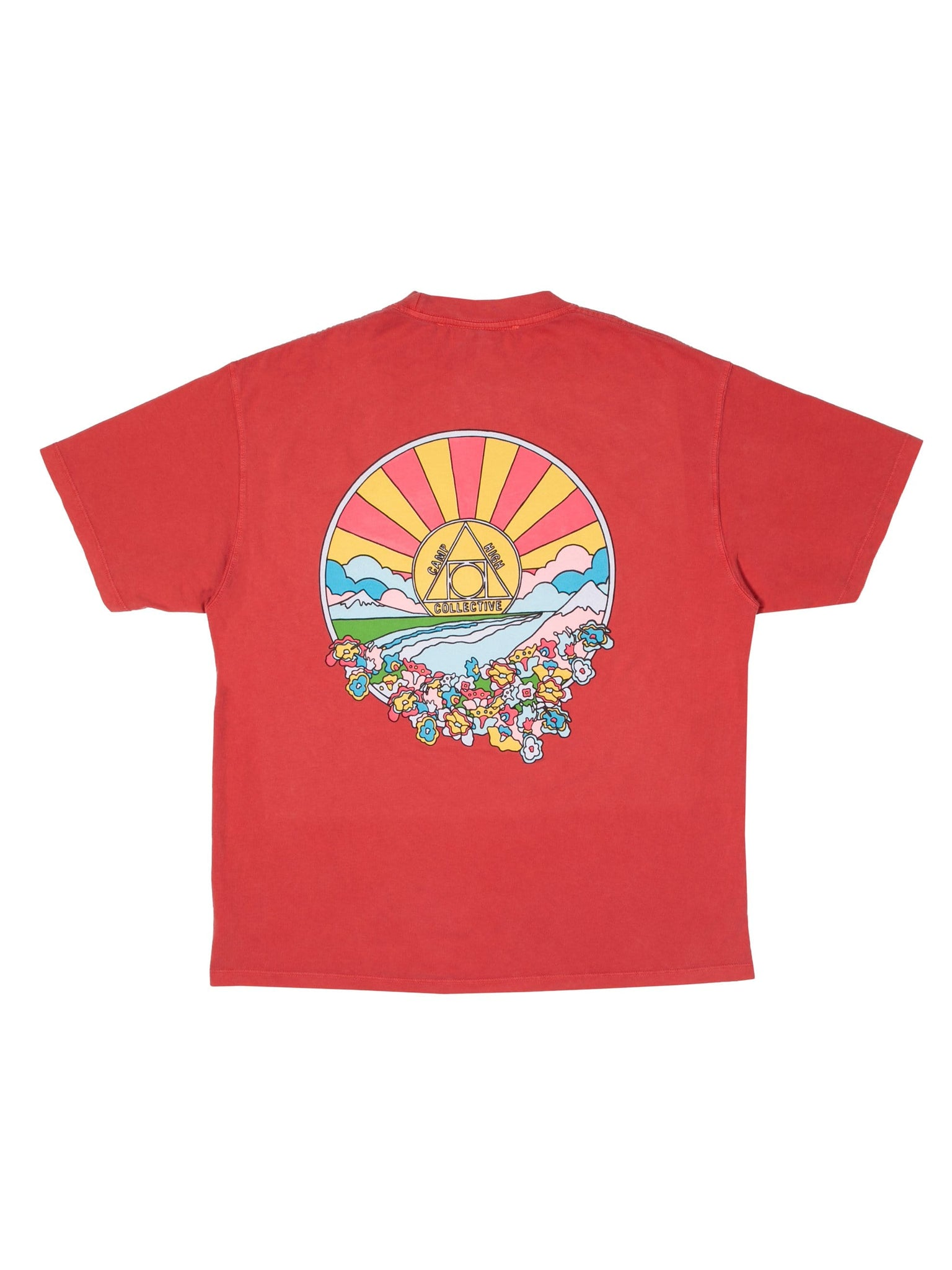 Camp High C H Sunshine T-shirt