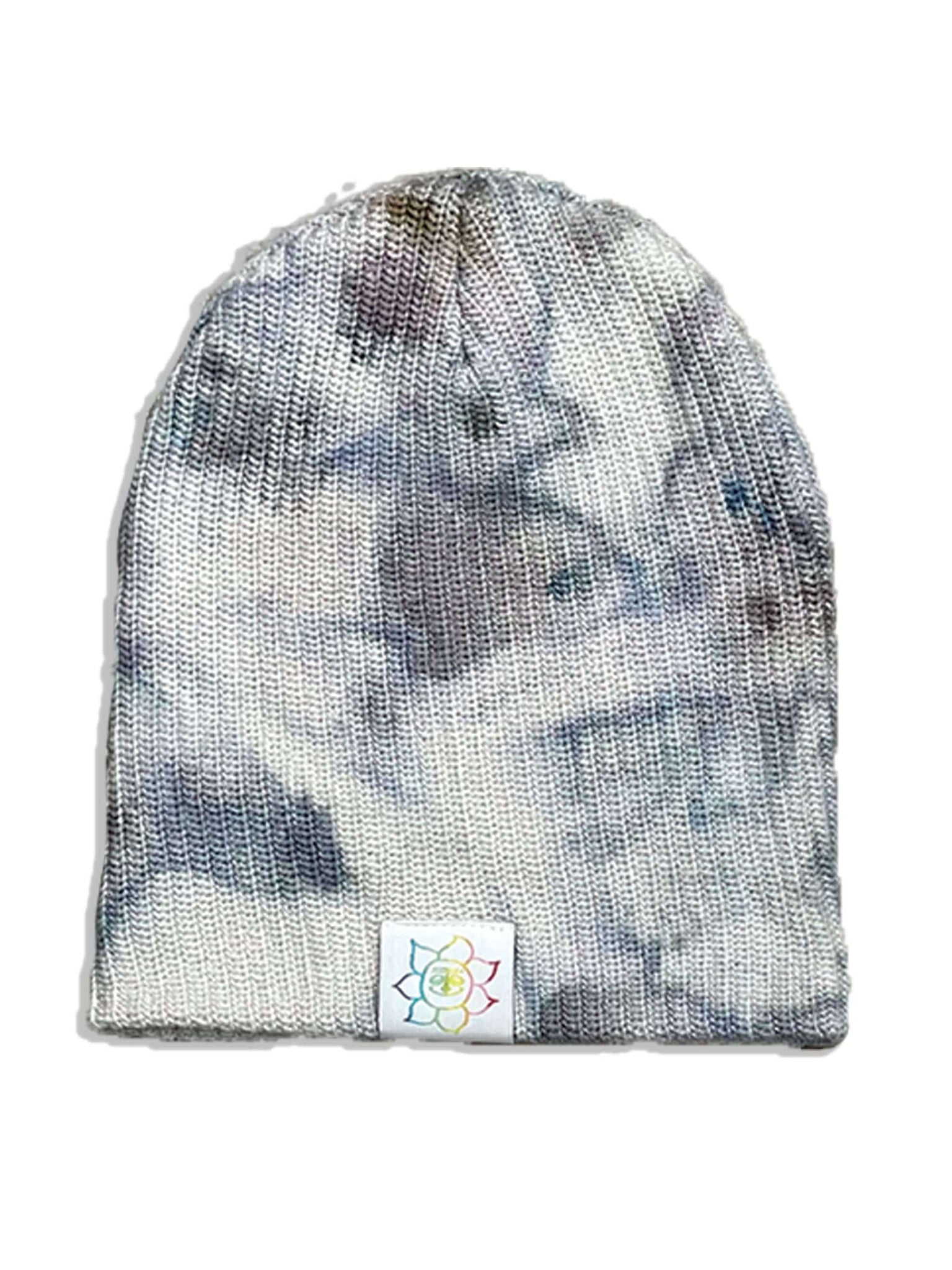 Camp High Dark Indigo Ice dyed Beanie