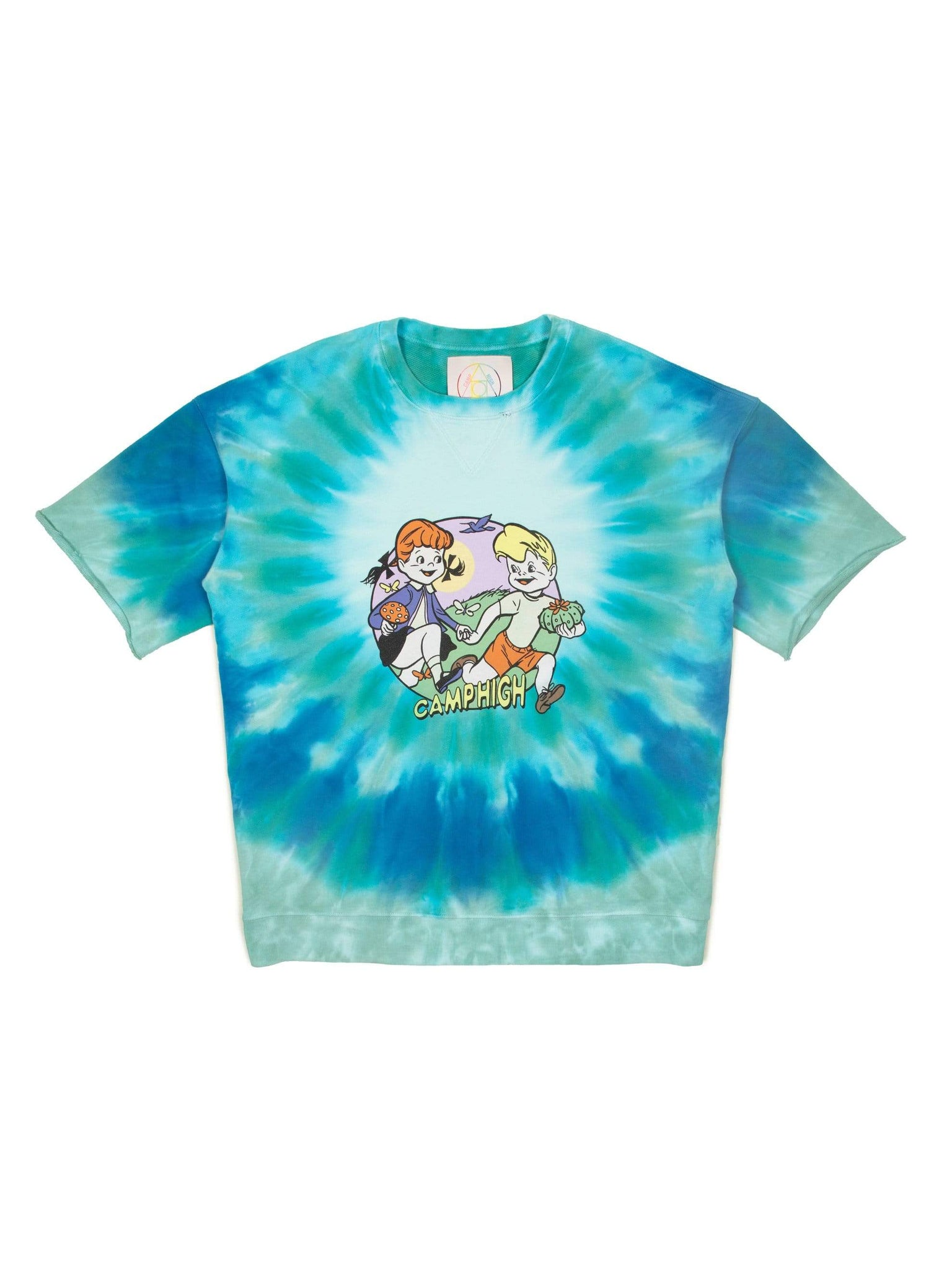 Camp High Forage Friends 3/4 Crewneck