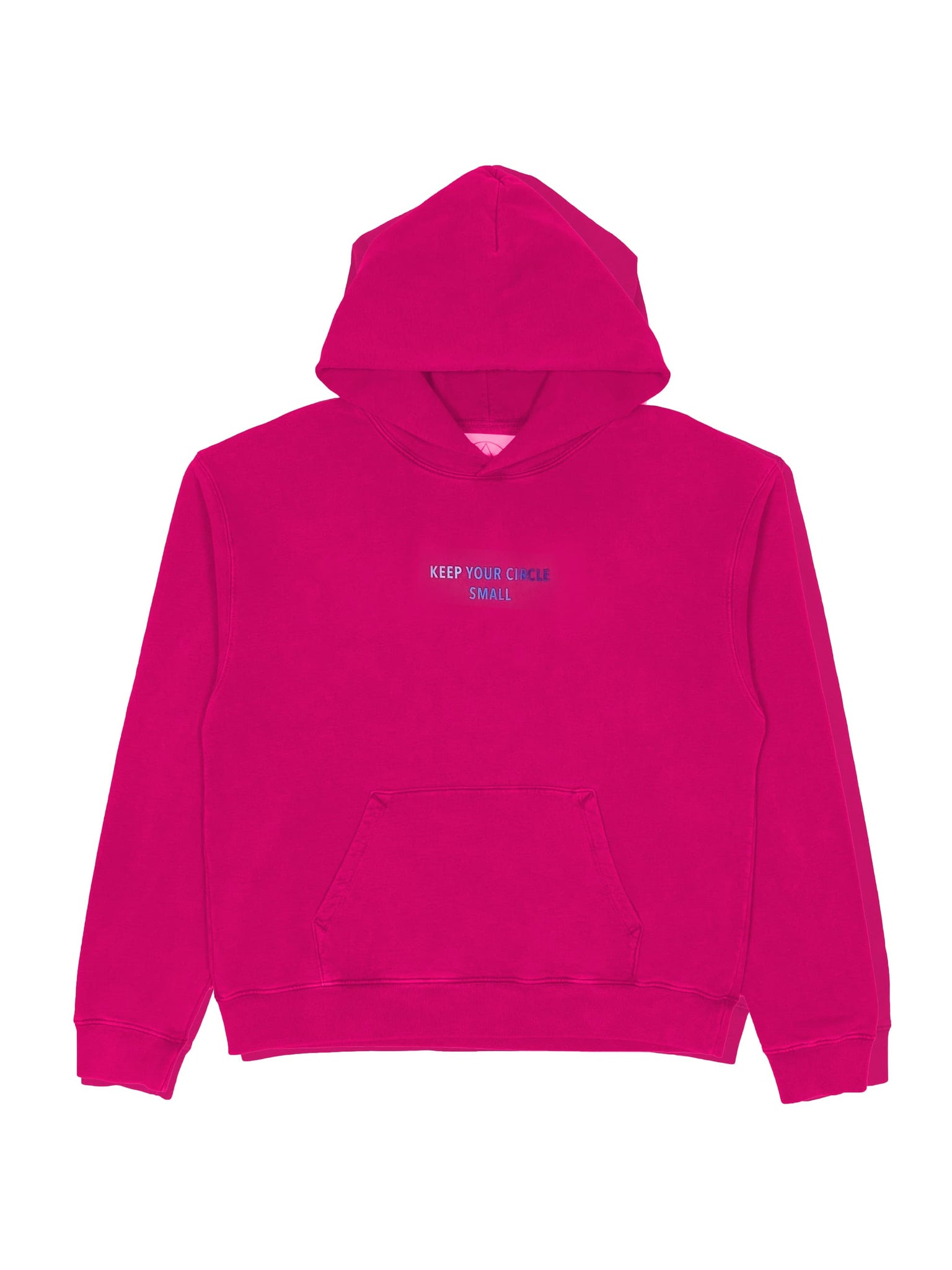 Camp High Fuchsia / Small Small Circle Hoody Solid