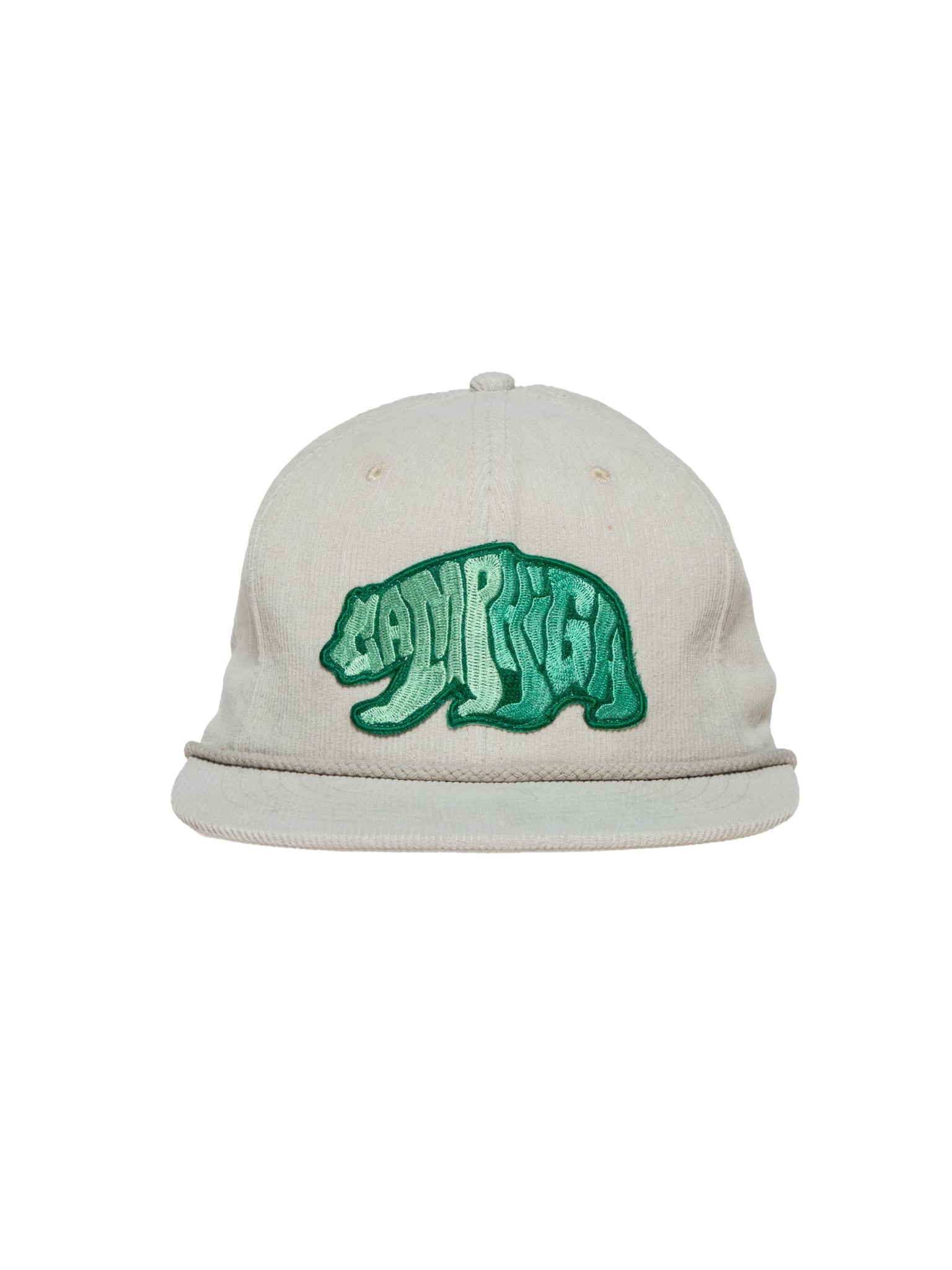 Camp High Natural Cali Bear Cord Cap