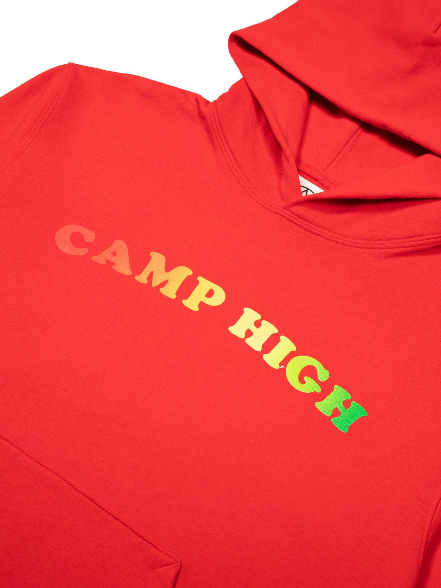 Camp High Rainbow Counselor Hoody Crimson Red
