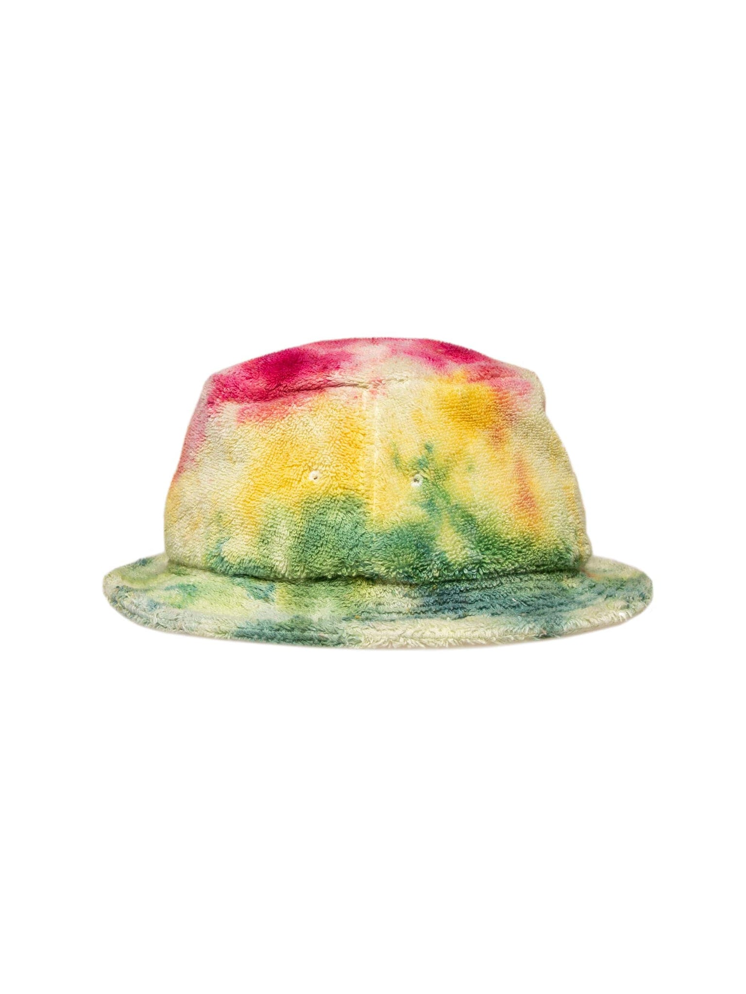 Camp High Red/Green Icee Dye Small Circle Too Bucket Hat