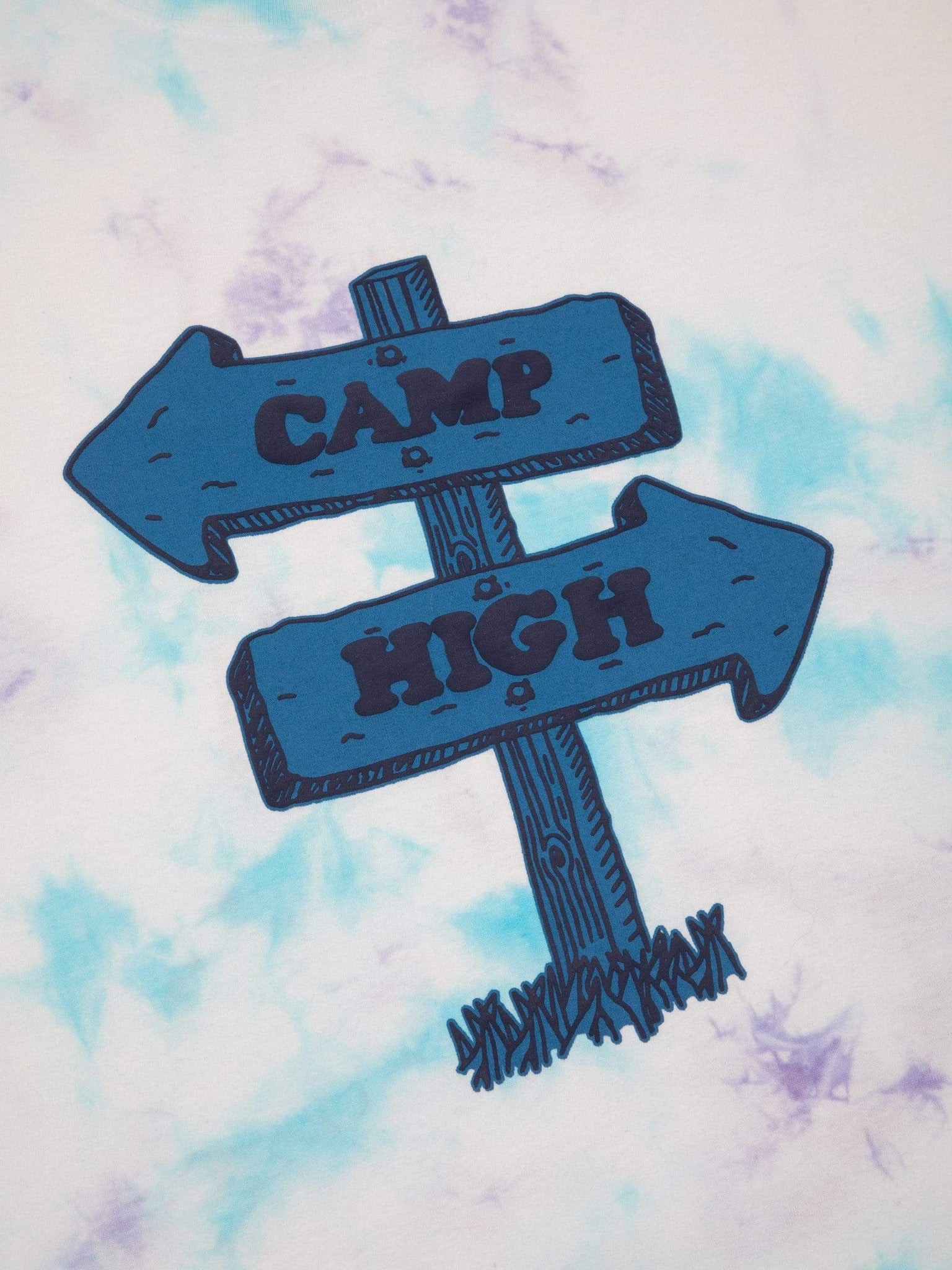 Camp High Road Sign