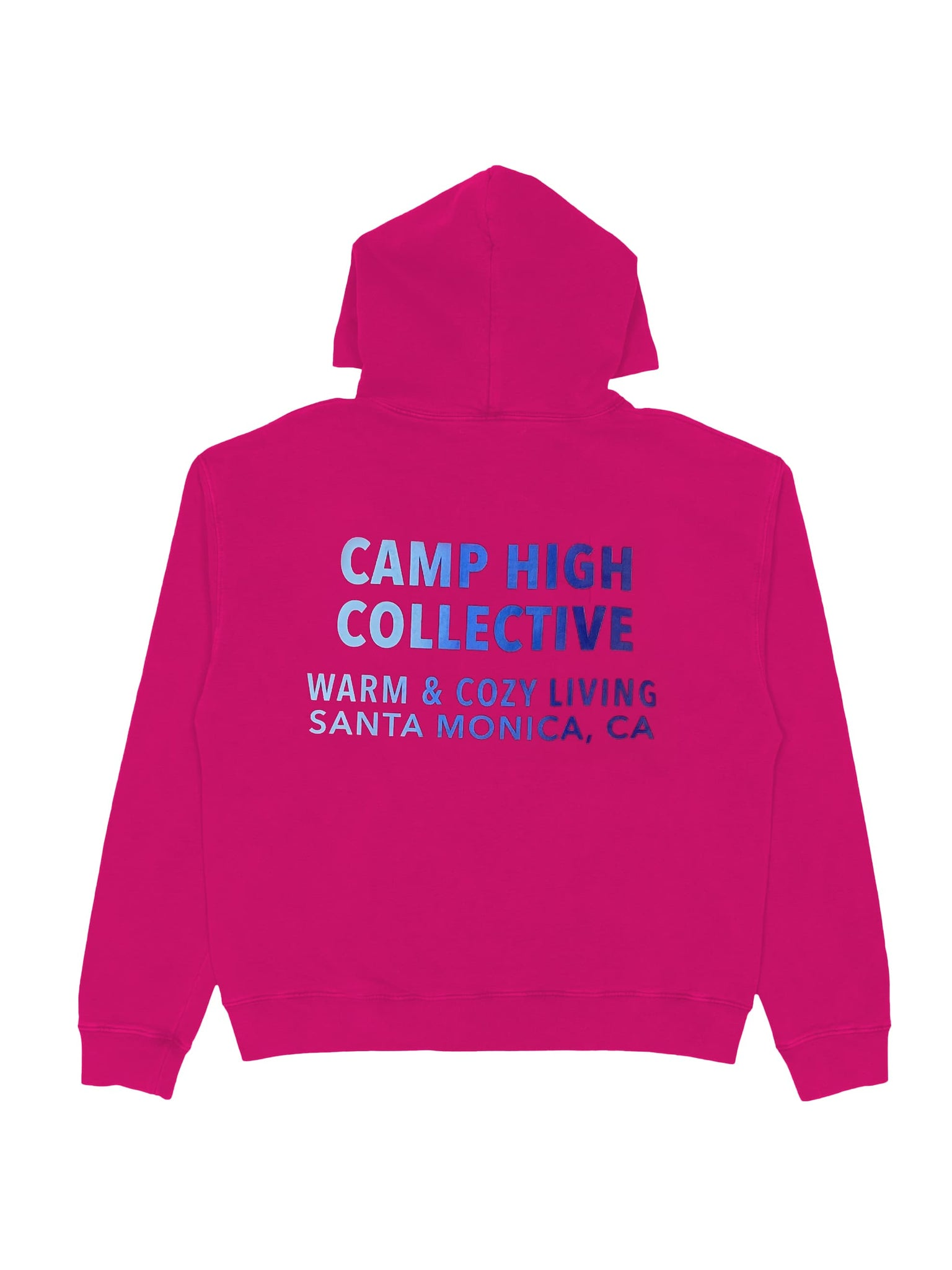 Camp High Small Circle Hoody Solid