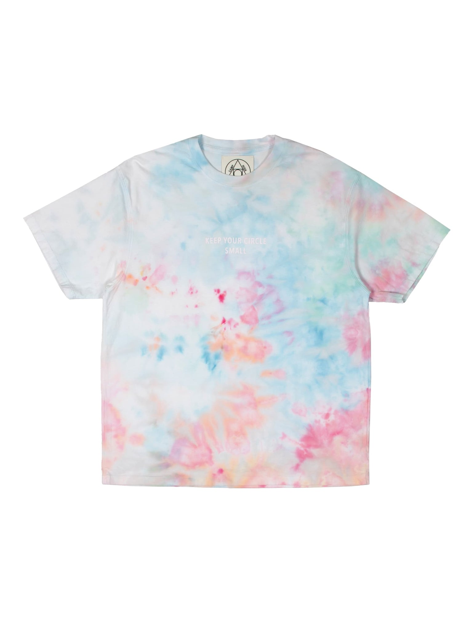 Camp High Small Circle Ice Dye T-shirt