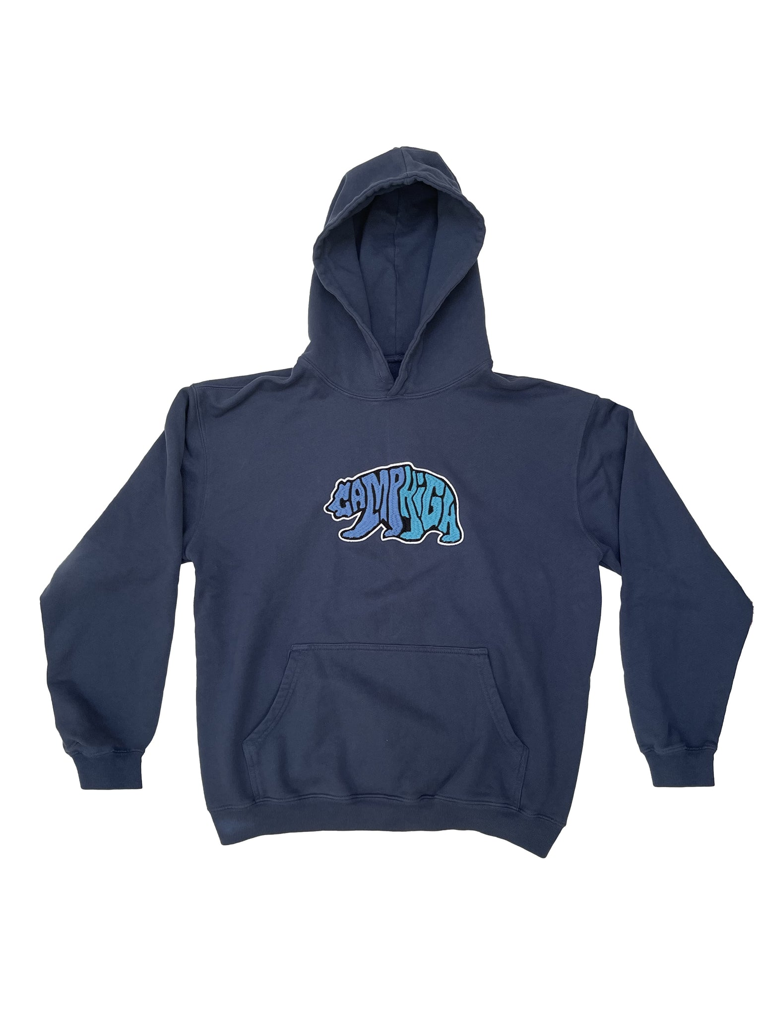 camphigh Small / NAVY Cali Bear Hoody