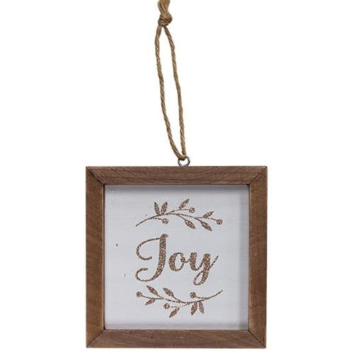 Joy Frame Ornament