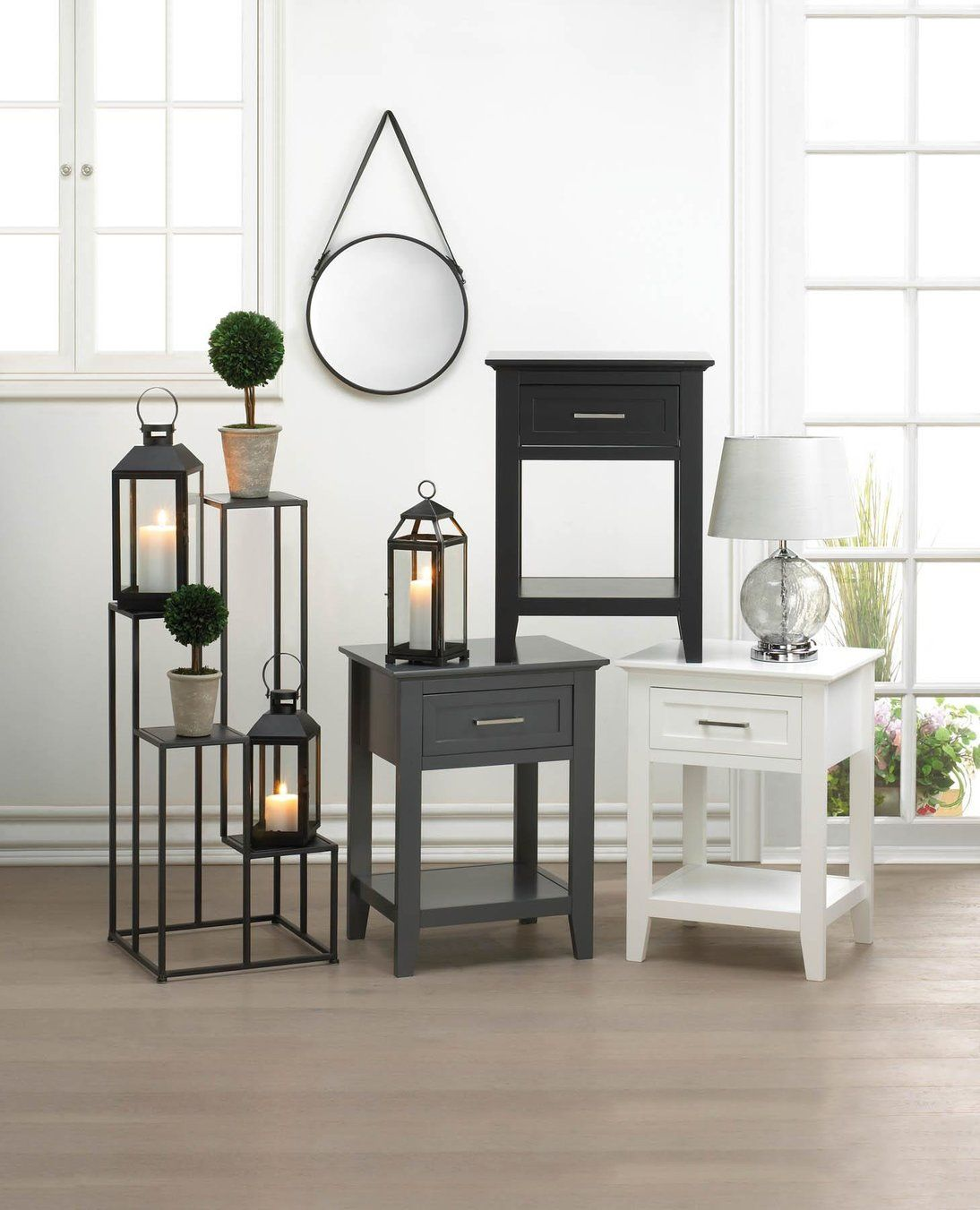 Modern Four Tier Plant Stand - Primrose Creations Shop