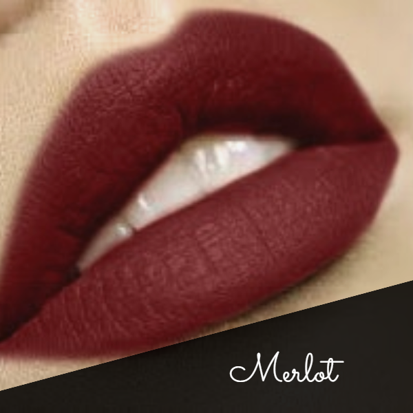 """Merlot"" Premium Long Lasting Liquid Lipstick 