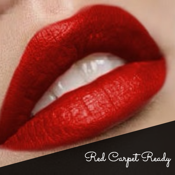 """Red Carpet Ready"" Premium Matte Liquid Lipstick"