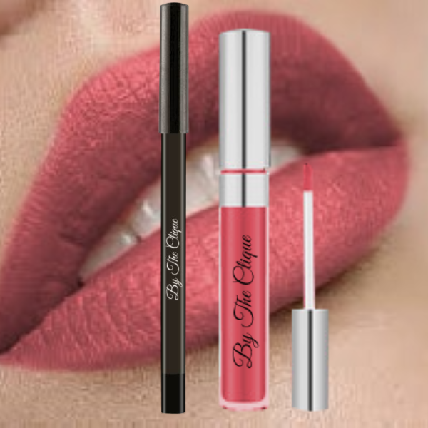 """Naturally Nude  Rosè"" Premium Long Lasting Matte Lip Kit 