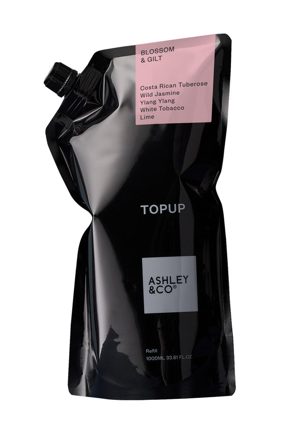 ASHLEY & CO<BR>Topup Botanical Handwash<BR>Refill 1L
