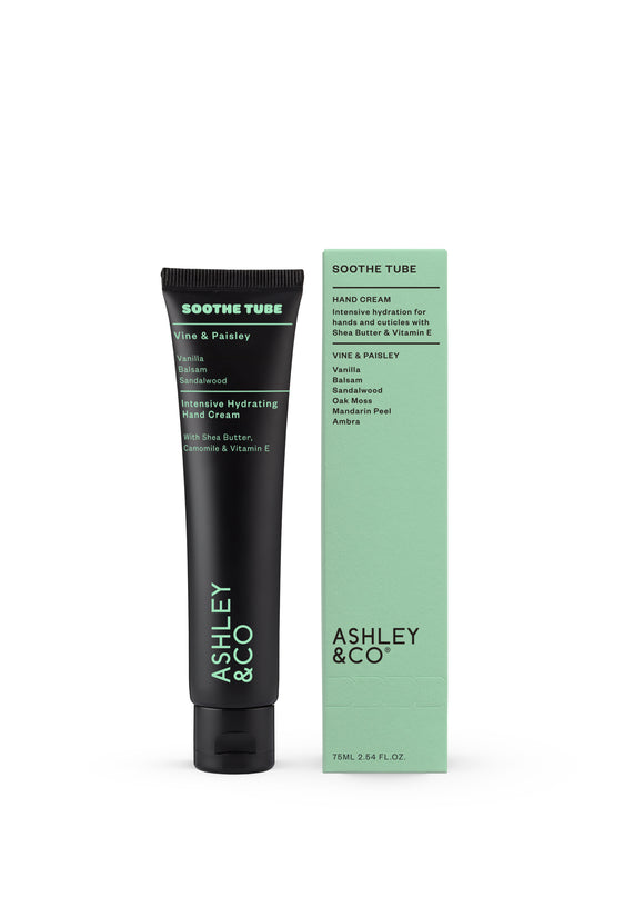 ASHLEY & CO <BR>Soothe Tube <BR>Vine & Paisley