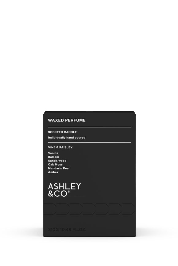 ASHLEY & CO<BR>Vine & Paisley<BR> Waxed Perfume