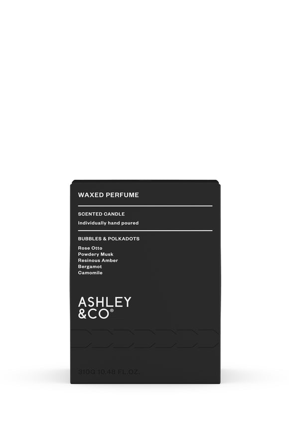 ASHLEY & CO<BR> Bubbles & Polkadots<BR> Waxed Perfume