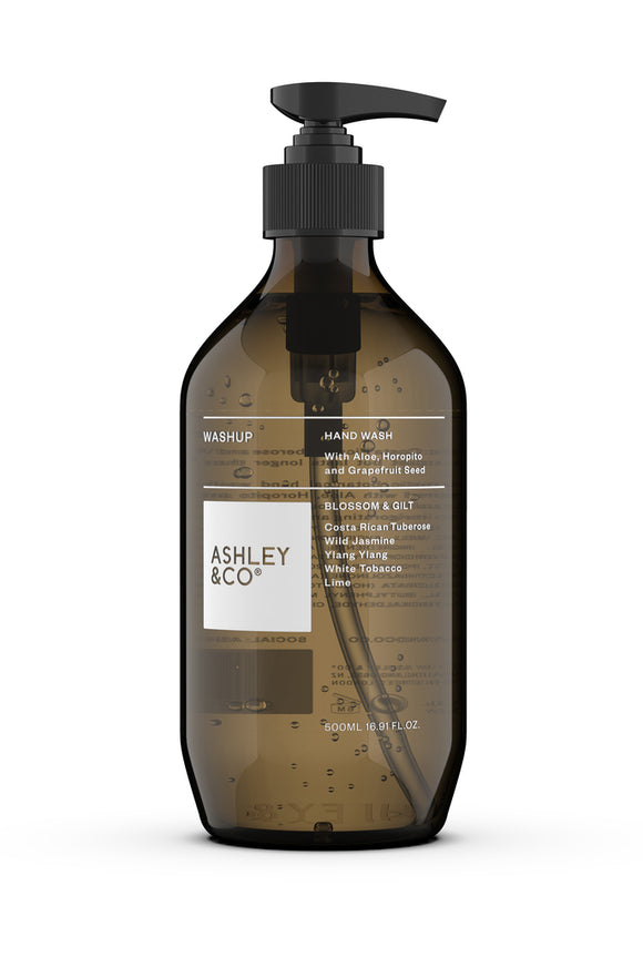 ASHLEY & CO<BR>Botanical Handwash Blossom & Gilt