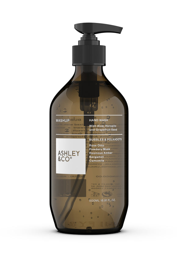 ASHLEY & CO<BR>Botanical Handwash<BR> Bubbles & Polkadots