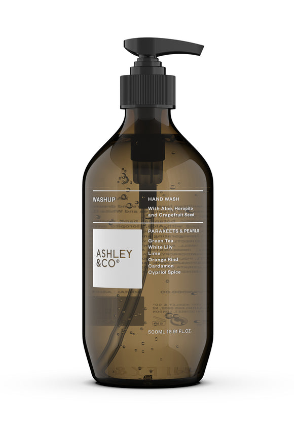 ASHLEY & CO<BR>Botanical Handwash<BR> Parakeets & Pearls