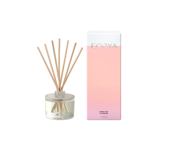 ECOYA<BR>Sweat Pea & Jasmine<BR> Fragranced Diffuser