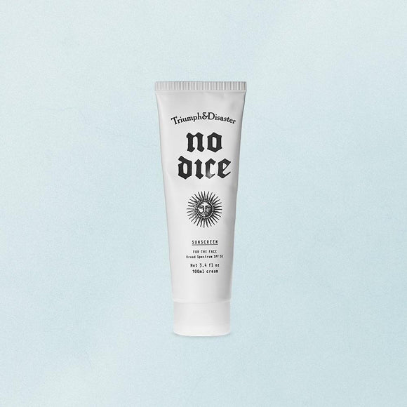 TRIUMPH & DISASTER<BR>No dice Sunscreen 100ml