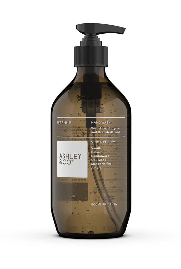 ASHLEY & CO<BR>Botanical Handwash<BR>Vine & Paisley