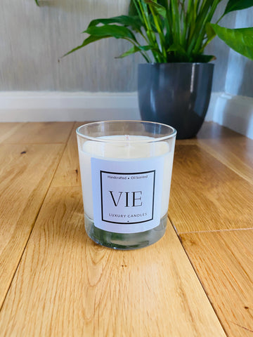 VIE Clear Glass Candle