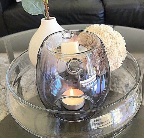 Clear/Grey Wax Melt Burner