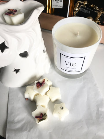 Peony & Blush Suede Soy Wax Melts