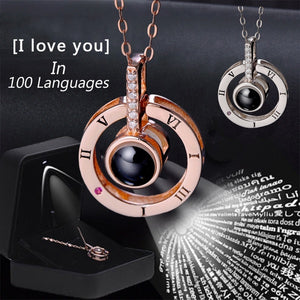 100 Languages I Love You Necklace-( BUY 1 TAKE 1)