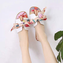 KOREAN RAINBOW FLAT SANDALS