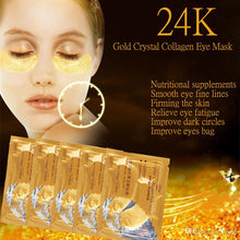 24k Crystal Collagen Eye Mask ( BUY 1 TAKE 9)