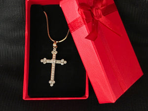 Cherished Cross Necklace