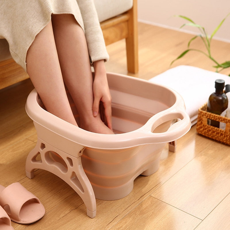Portable & Collapsible Foot Massage Bucket