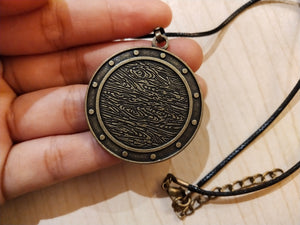 Compass Money Amulet Necklace